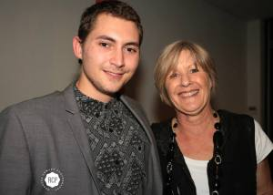 Chaz Gibbons with (Mum) Kerry Gibbons