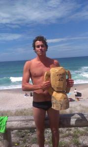 Body Bash Winner Jake Smith from Pauanui